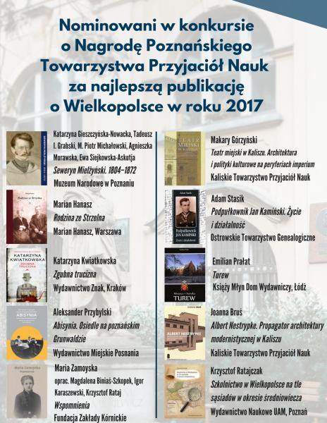 Nominowani do Nagrody PTPN