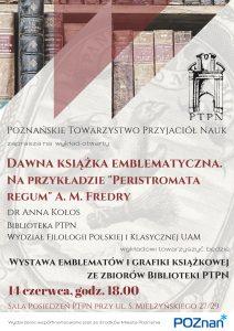 """""""Dawna ksiązka - sztuka i rzemiosło"""" - wykład otwarty dr Anny Kołos"""