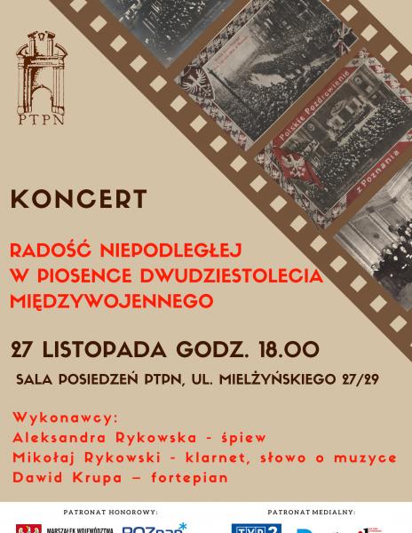 Konferencja W przededniu Powstania – od Polskiego Sejmu Dzielnicowego do przyjazdu Paderewskiego i koncert