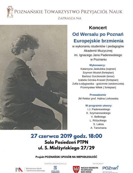 """Koncert """"Od Wersalu po Poznań. Europejskie brzmienia"""""""