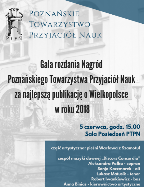Rozdanie Nagród PTPN