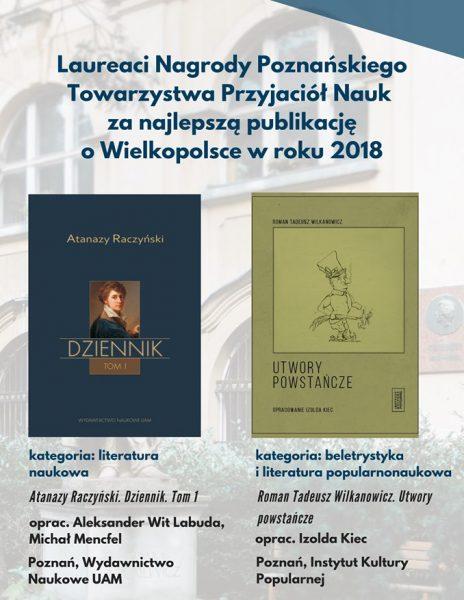 Nagrodzone książki o Wielkopolsce
