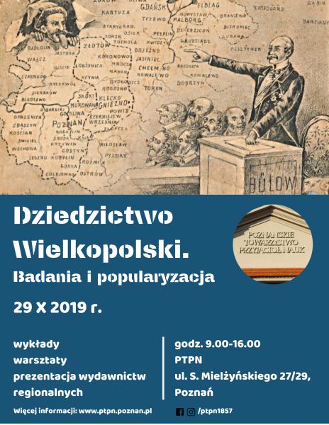 Seminarium pt. Dziedzictwo Wielkopolski. Badania i popularyzacja