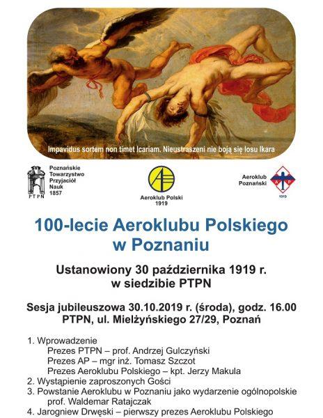 100-lecie Aeroklubu Polskiego w Poznaniu