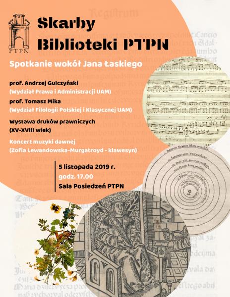 Skarby Biblioteki – Wokół Jana Łaskiego