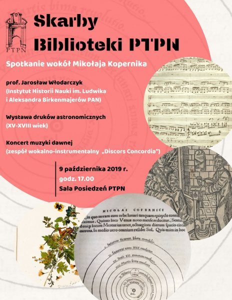 """""""Skarby Biblioteki PTPN"""" – spotkanie wokół Kopernika"""