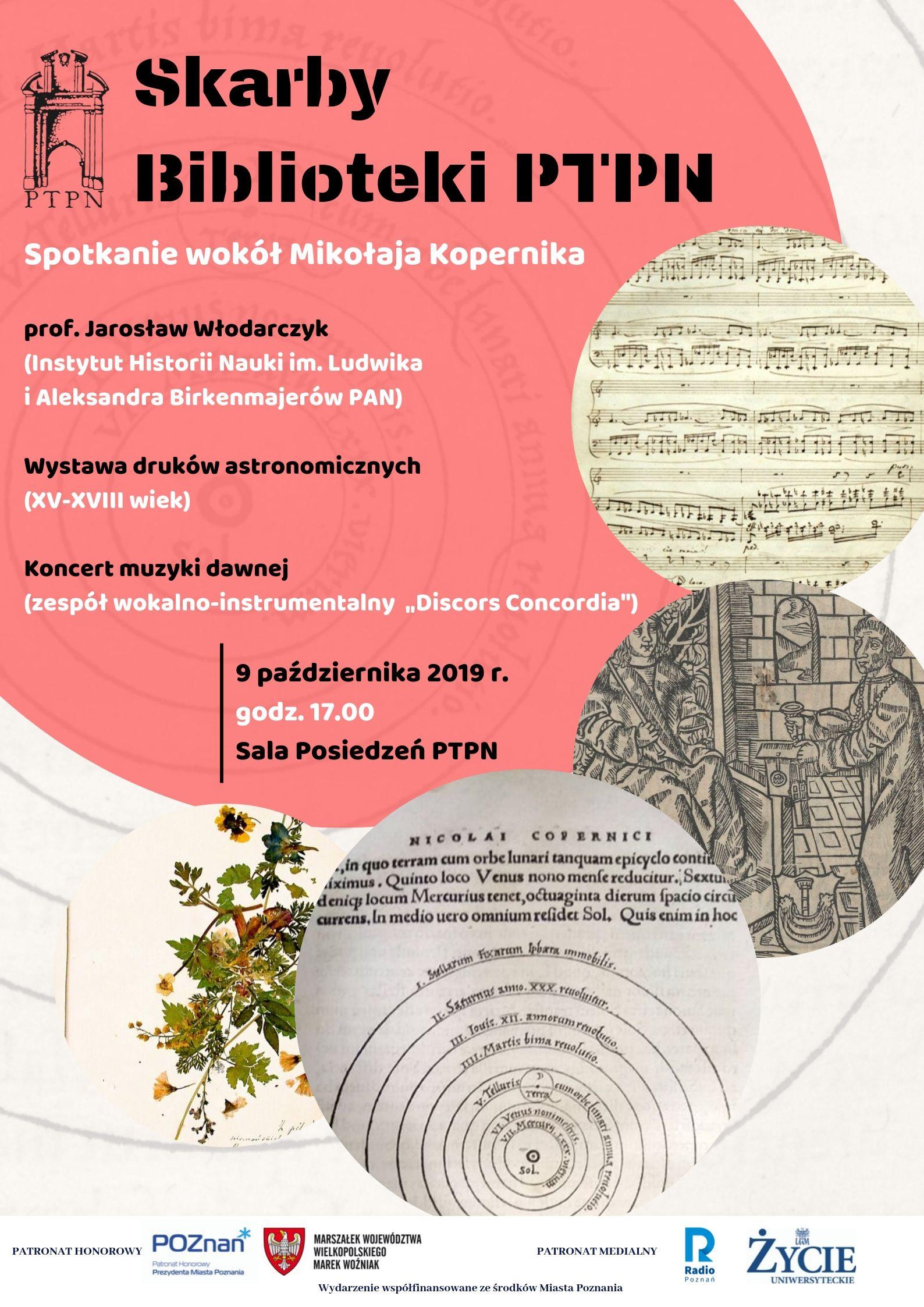 Skarby Biblioteki PTPN – Spotkanie wokół Kopernika