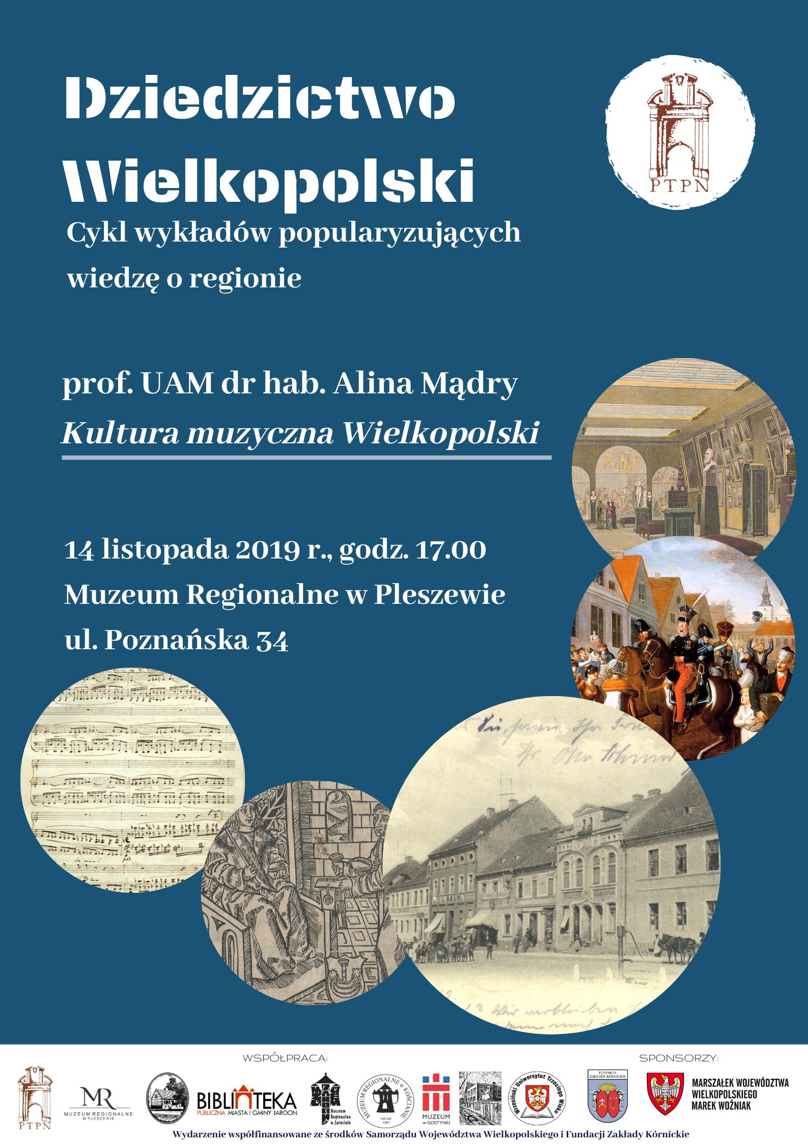 """""""Kultura muzyczna Wielkopolski"""" – wykład zamiejscowy"""