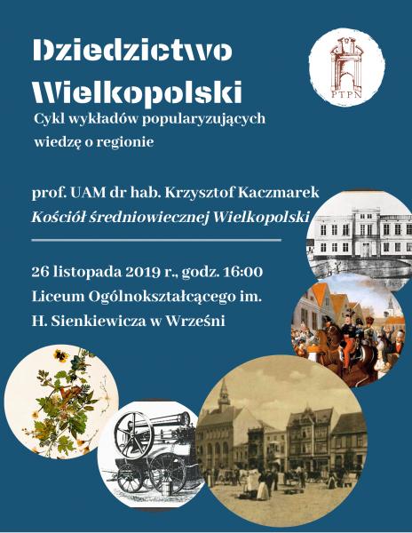Dziedzictwo Wielkopolski – wykłady zamiejscowe we Wrześni