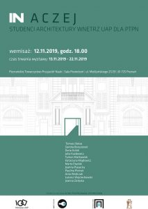 IN ACZEJ | Studenci Architektury Wnętrz UAP dla PTPN @ ul. Mielżyńskiego 27/29