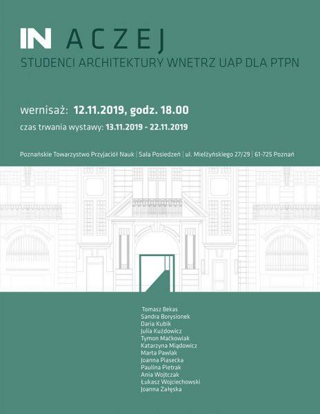 IN ACZEJ | Studenci Architektury Wnętrz UAP dla PTPN