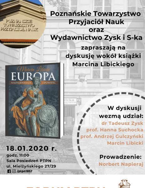 Prezentacja książki: Europa – najpiękniejsza opowieść