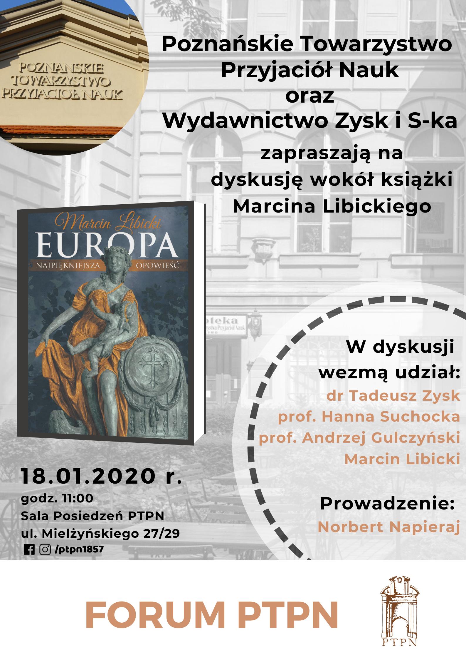 """Prezentacja książki """"Europa – najpiękniejsza opowieść"""""""