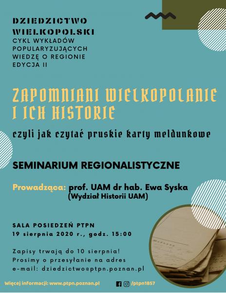 Zapomniani Wielkopolanie i ich historie, czyli jak czytać pruskie karty meldunkowe_Dziedzictwo Wielkopolski