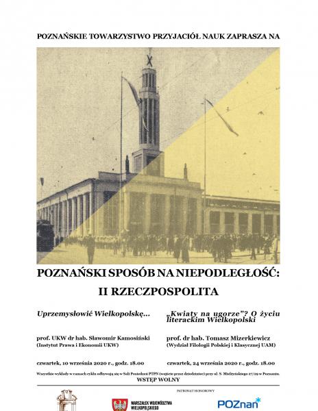Poznański sposób na niepodległość: II Rzeczpospolita_wrześniowe wykłady