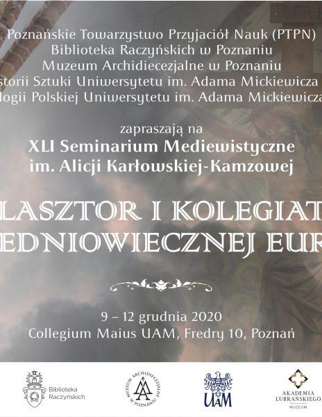 XLI Seminarium Mediewistyczne im. Alicji Karłowskiej-Kamzowej