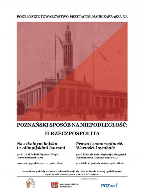 Poznański sposób na niepodległość: II Rzeczpospolita_grudniowe wykłady