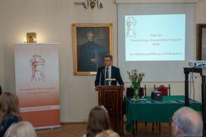 Prof. UAM dr hab. Andrzej Gulczyński (Prezes PTPN w latach 2014-2020)