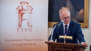 prof. UAM dr hab. Przemysław Matusik - wiceprezes PTPN